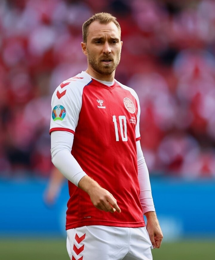 UEFA Star of the Match: Christian Eriksen