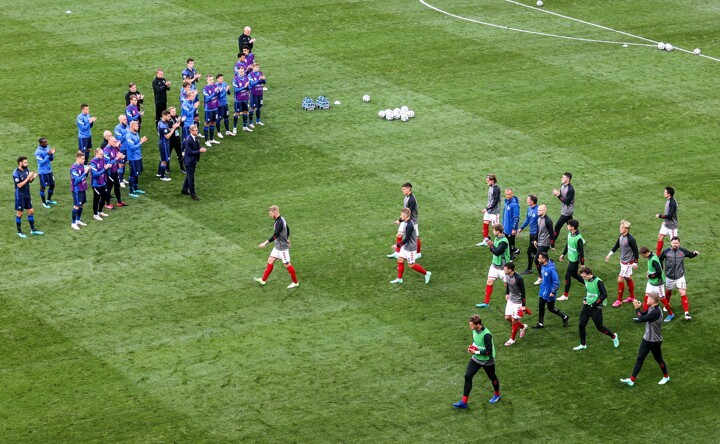 Denmark 0-1 Finland: Finland win resumed match after Eriksen collapsed