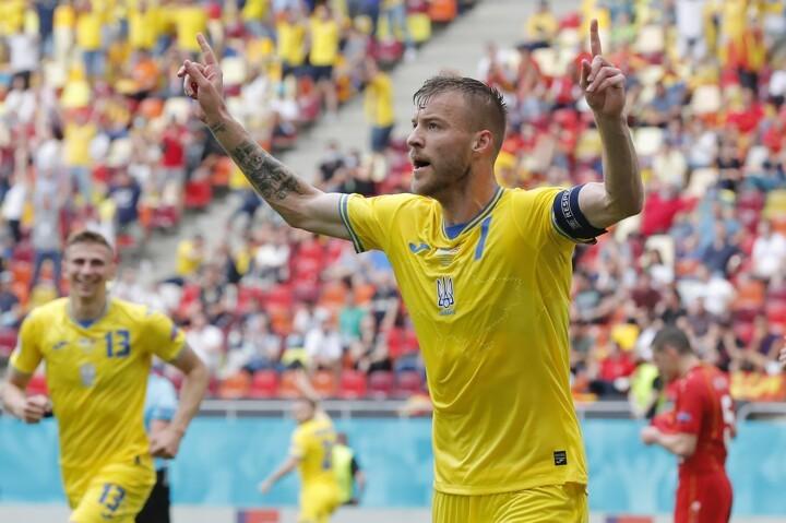 Ukraine 2-1 North Macedonia: Yarmolenko's goal & assist ...