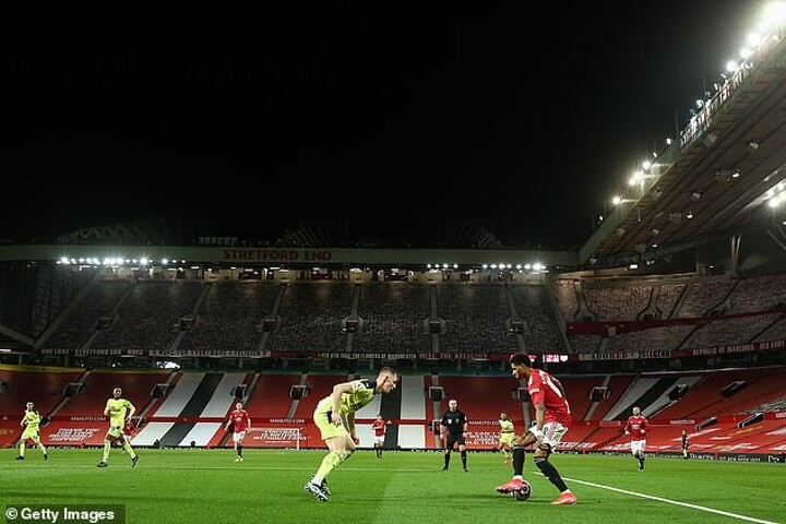 Manchester United report losses of over £21m for first three months of 2021