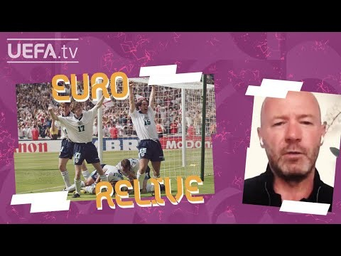 SHEARER and SEAMAN look back on EURO 1996's SCOTLAND 0-2 ENGLAND | EURO Relive