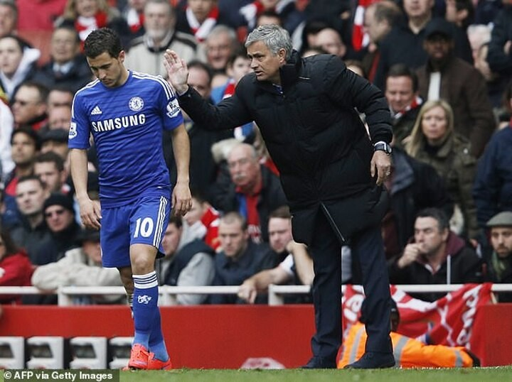 Mourinho claims Real Madrid star Hazard doesn't work much & is AWFUL in training