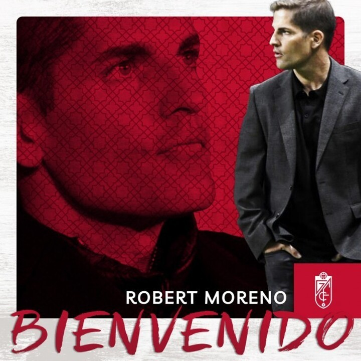 OFFICIAL: Granada announce the signing of new coach Robert Moreno