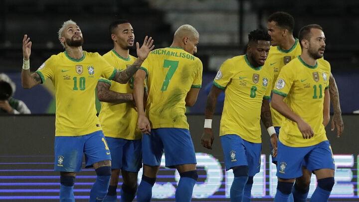 Neymar leads Brazil to dominant Peru victory