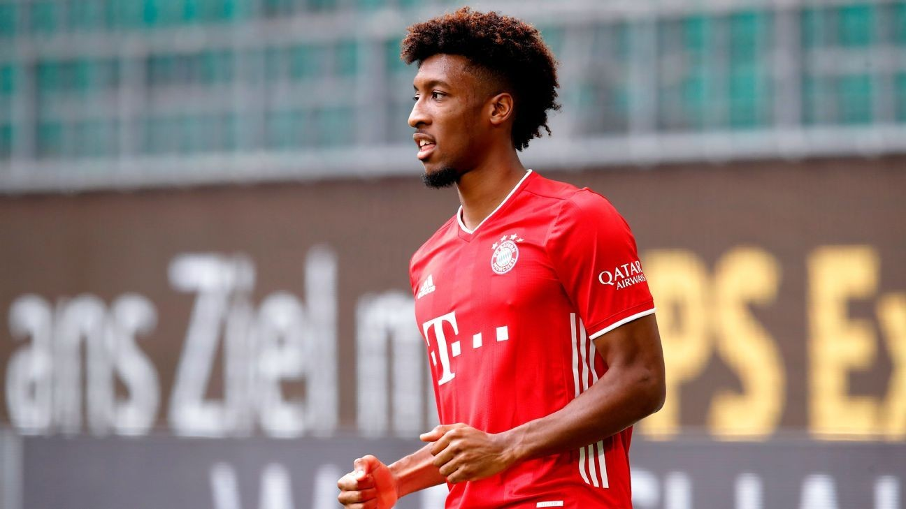 Transfer Talk: Barcelona see Bayern's Coman as Dembele replacement