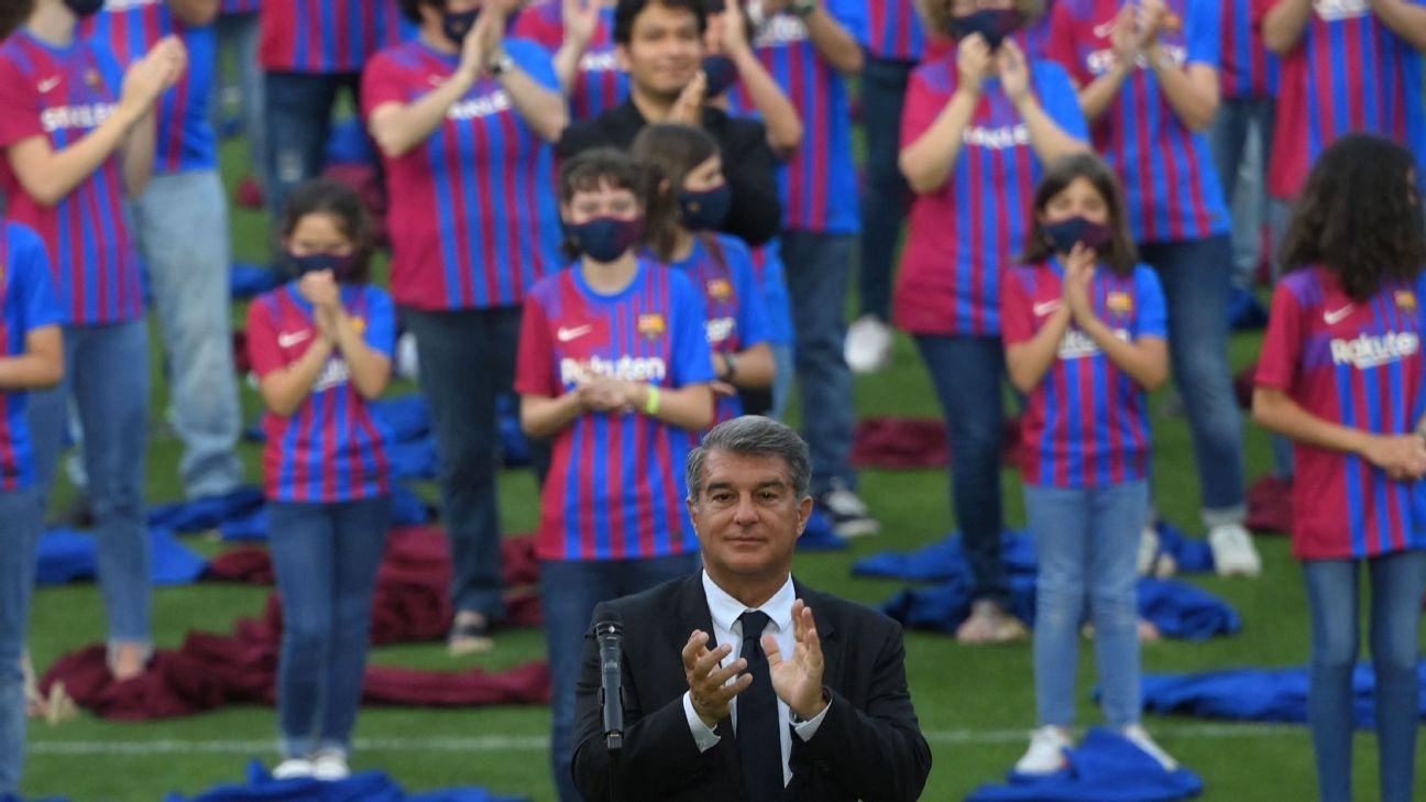Barca pres. won't say sorry to UEFA for ESL fiasco