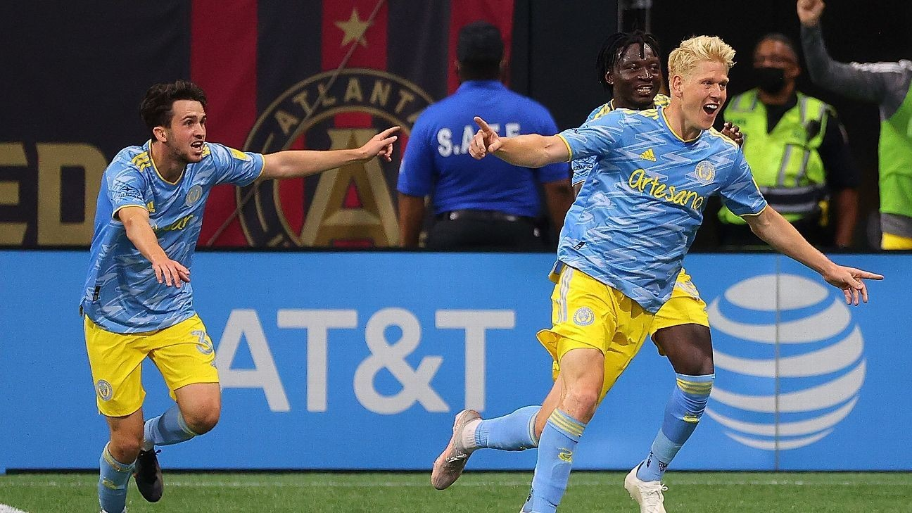 Philly rally with last-gasp goal to draw vs. Atlanta