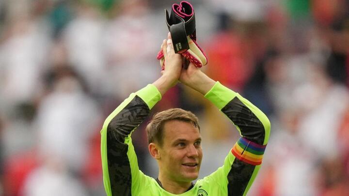 UEFA abandon investigation into Neuer's rainbow armband
