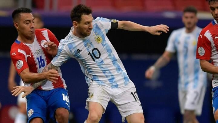Argentina still depending on Messi as he equals new record