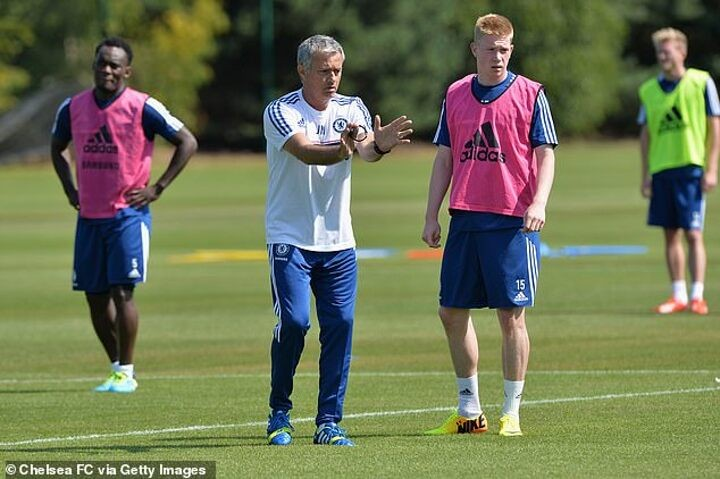 Mourinho insists allowing De Bruyne to leave Chelsea was NOT his decision