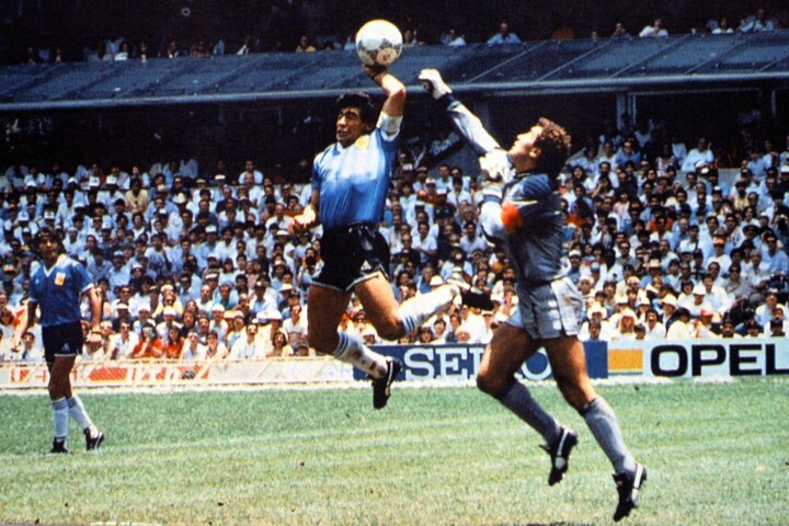 35 years ago today... The Hand of God