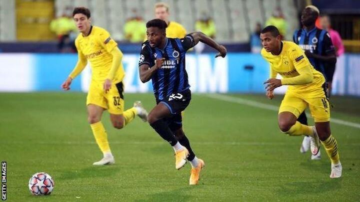 Emmanuel Dennis: Watford agree deal to sign Nigeria forward from Club Bruges
