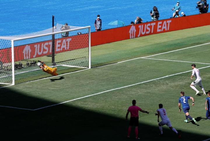 Spain have now missed their last FIVE international penalties