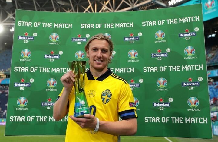 OFFICIAL: Forsberg named Star of the Match