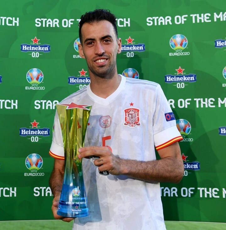 OFFICIAL: Busquets named Star of the Match