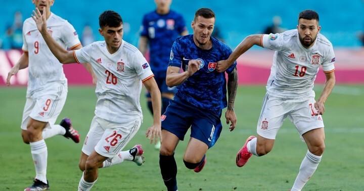 Slovakia 0-5 Spain: Dubravka nets OWN goal, Laporte & co help Spain into last 16