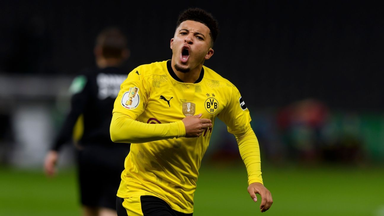 Sources: Man United closing in on Sancho deal