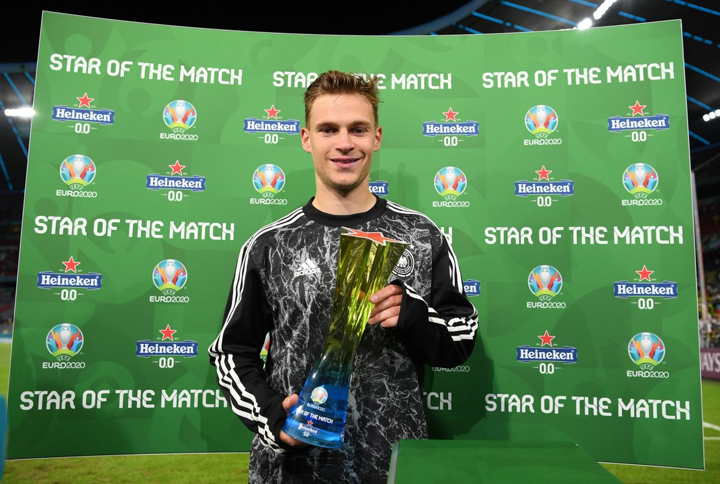 OFFICIAL: Kimmich named the Star of the Match