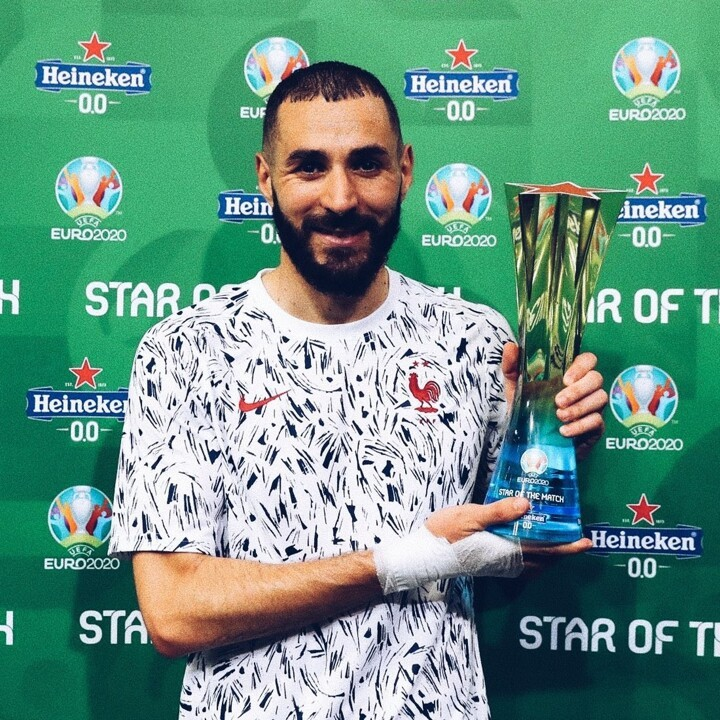 OFFICIAL: Benzema named Star of the Match
