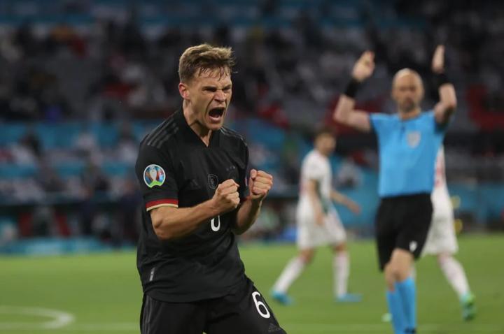 Germany 2-2 Hungary: Goretzka's goal sees Germany into last 16, Havertz nets