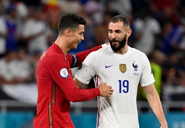 Portugal 2-2 France: Both teams into last 16 as Benzema & Ronaldo net brace
