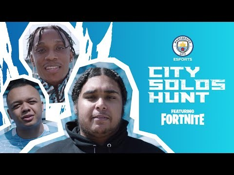 Play Fortnite for Manchester City!!   City Solos Hunt