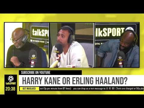 """""""IT HAS TO BE KANE!"""" Anton Ferdinand says Man City should sign Harry Kane over Erling Haaland!"""