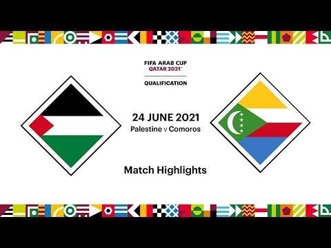 Palestine v Comoros   FIFA Arab Cup 2021 Qualifier   Match Highlights