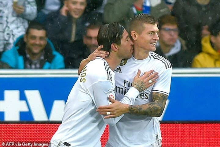 T.Kroos pays tribute to Ramos and admits his shock at the RM captain's departure