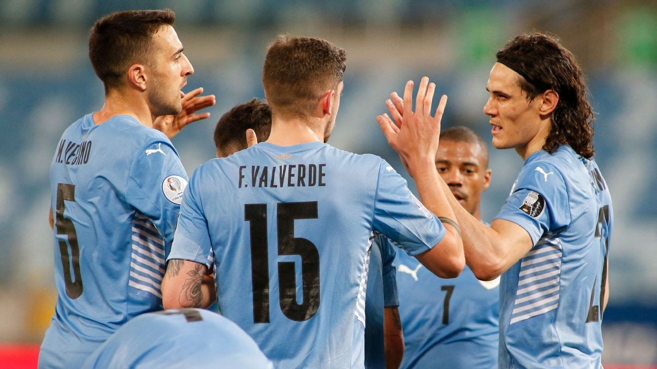 Cavani stars for Uruguay; Tite a victim of his own success for Brazil