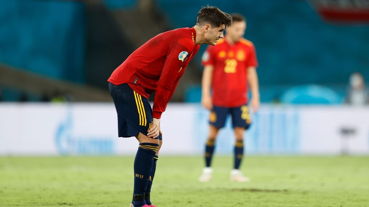 Morata: I received threats to my kids for misses