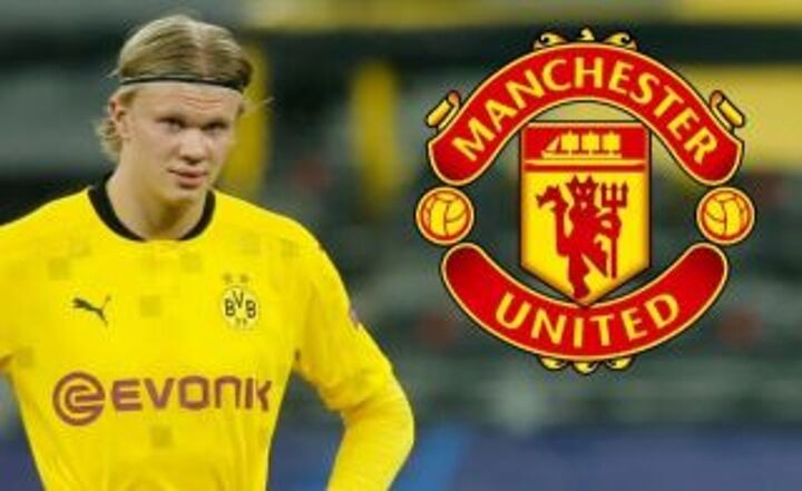 Manchester United one step ahead of their rivals as talks with Erling Haaland before Euro 2020 are confirmed