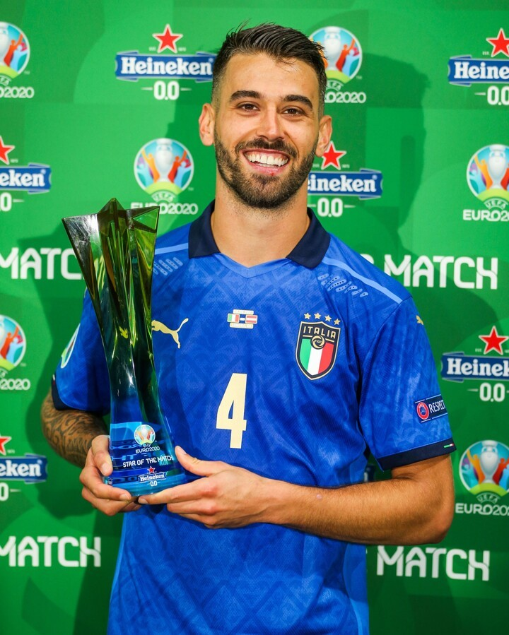 OFFICIAL: Spinazzola named Star of the Match - Ghana Latest Football News,  Live Scores, Results - GHANAsoccernet