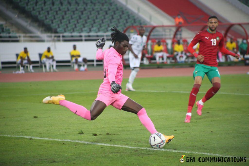 Black Stars management committee chairman defends underfire goalie Razak Abalora after howler in Morocco defeat