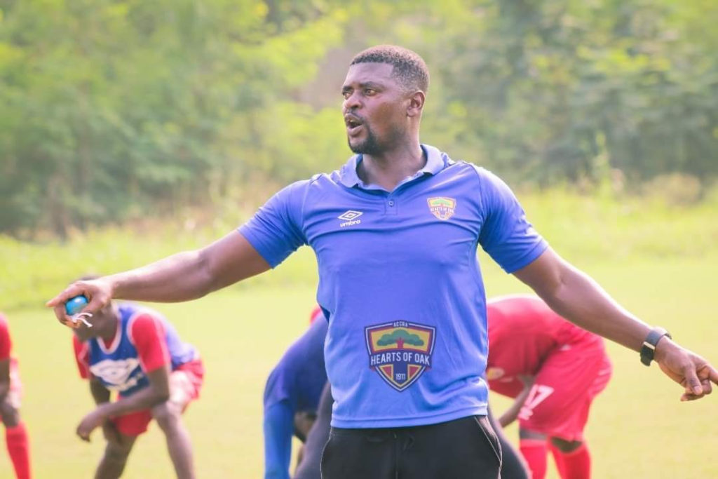 """""""Bring on Kotoko, Real Madrid, Chelsea and all""""-  Samuel Boadu touts Hearts readiness for any team in the world"""