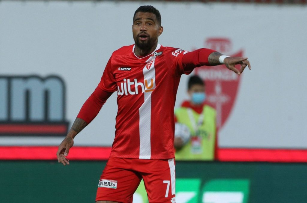 Kevin-Prince Boateng prepares to bid farewell to AC Monza