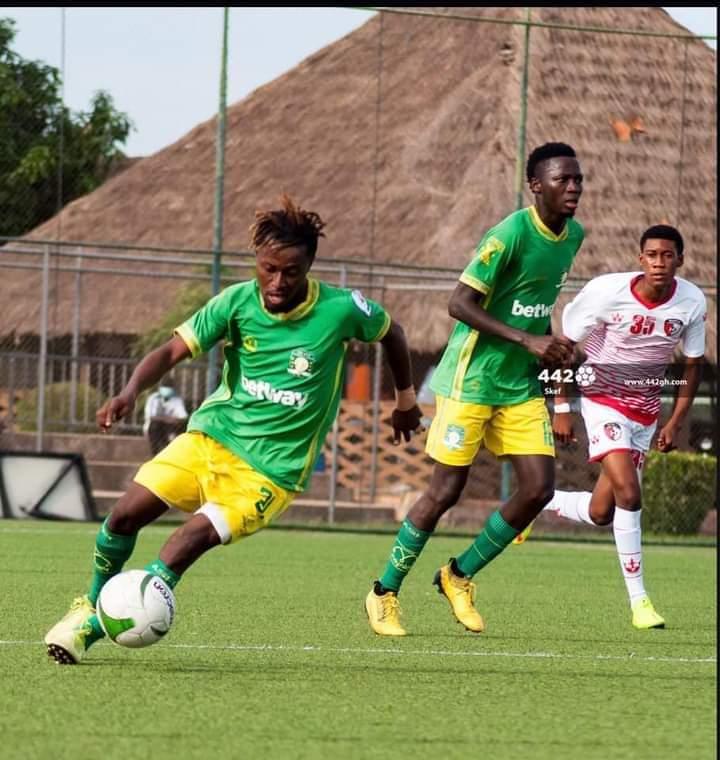 2020/21 Ghana Premier League: Benjamin Tweneboah named MoTM in Aduana's victory over Dreams