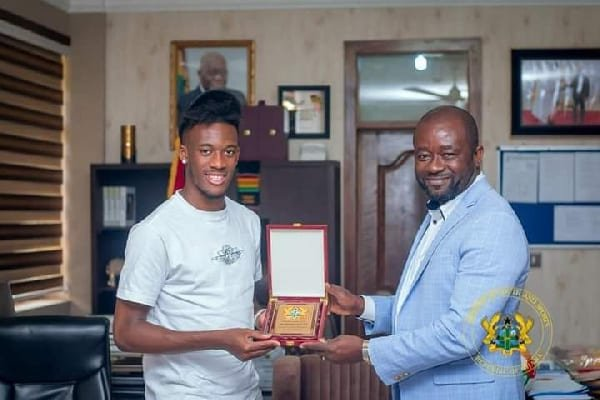 Ghana FA collaborating with government to persuade Callum Hudson-Odoi over nationality switch