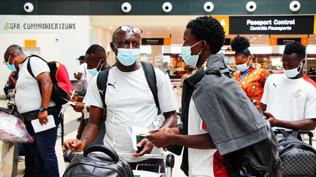 Black Meteors leave Accra for Japan and South Korea friendlies