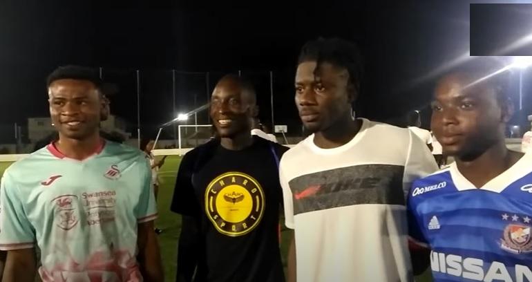Gyan, Salisu, Ashimeru and other Ghana stars thrill fans at Madina Stadium