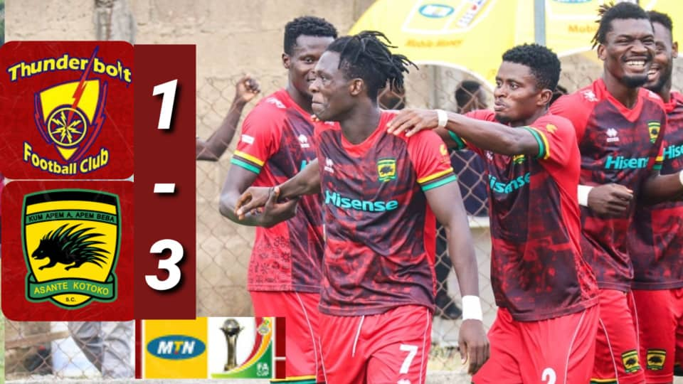 VIDEO: Watch highlights of Asante Kotoko's convincing win in MTN FA Cup round of 32