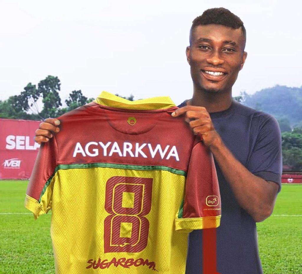 Breaking News: Accra Lions mercurial midfielder Agyarkwa joins Malaysia giants Selangor