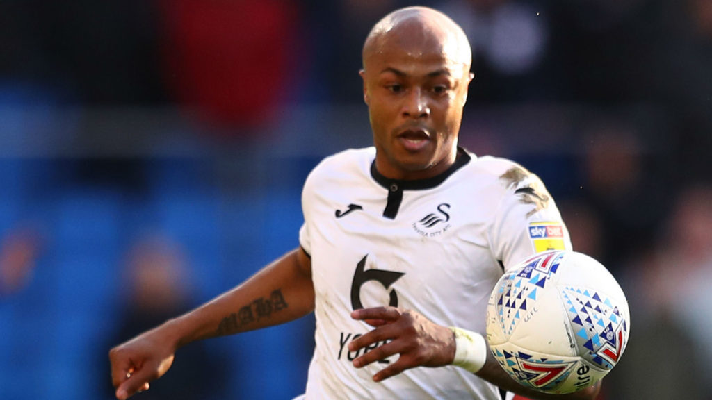 Newcastle United target free agent Andre Ayew