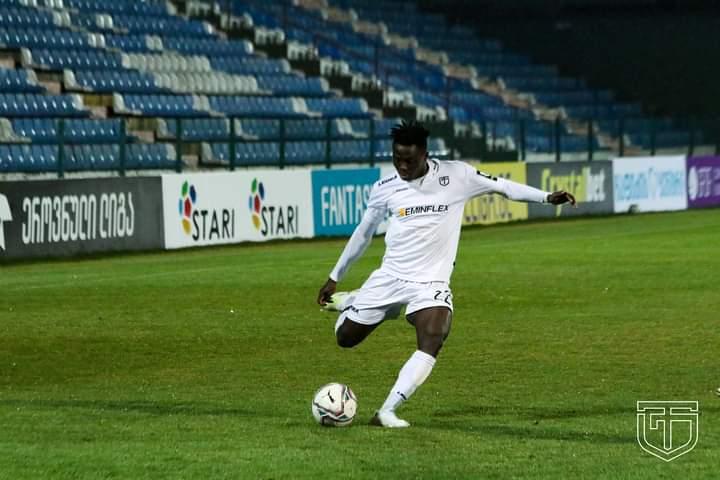 Ghanaian defender Samuel Inkoom named in Team of the Week in Georgia