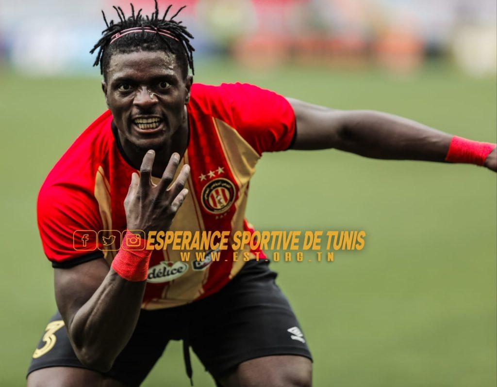 Ghanaian striker Abdul Basit Khalid is set for Esperance exit
