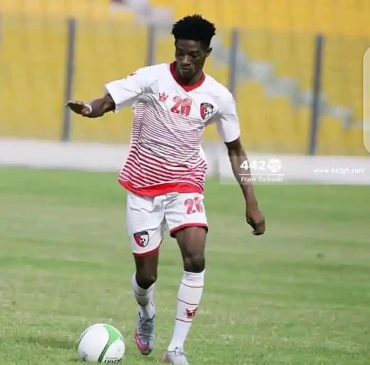WAFA midfielder Enock Esubonteng nears Hearts of Oak switch