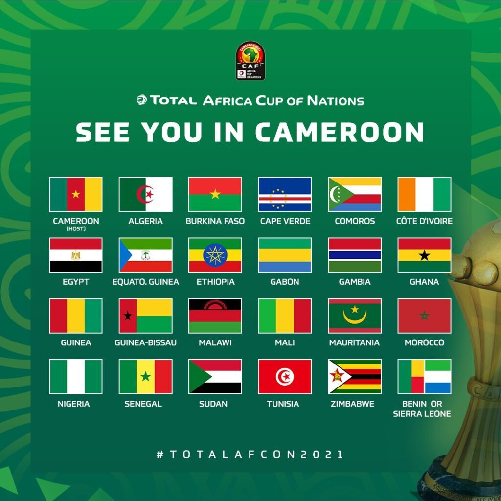 2021 AFCON draw: Ghana to know group opponents on August 17
