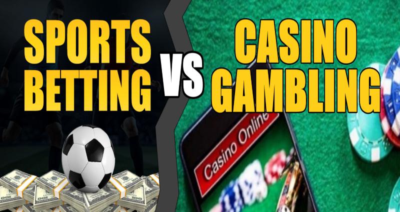 Casino Gambling v.s Sports Betting – A Comparison Of Benefits