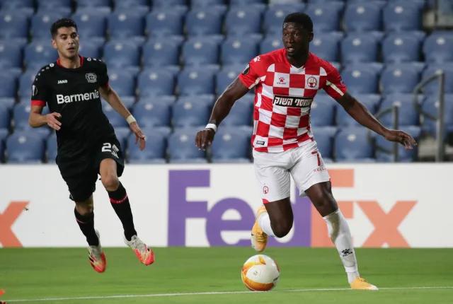 Elton Acolatse on target in Hapoel Be'er Sheva's big win in Europa Conference League