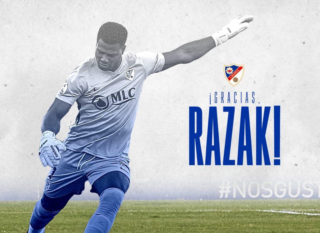 BREAKING NEWS! Former Ghana goalkeeper Brimah Razak leaves Spanish club Deportivo Linares